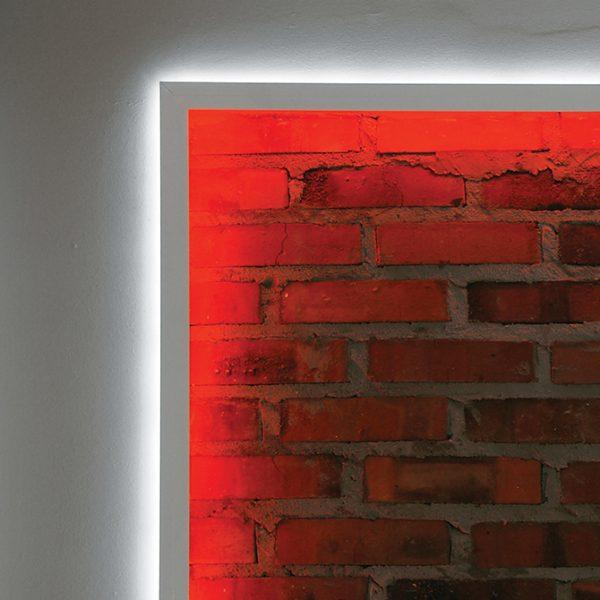 BACK LED ALUMINIUM PROFILE FOR FEATURE STRIP LIGHTING -2M Back - K01-1015-2M Insitu 670x670
