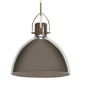 BELLINI GRANDE CHROME METAL CEILING PENDANT 303MM T01-0009 670X670