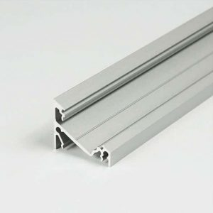 CORNER LED ALUMINIUM PROFILE FOR WORK SURFACES – 2M- K01-1060 Aluminium 670x670