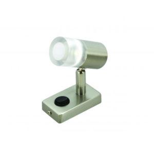 CRYSTAL LED ROUND GLASS LOCKER SPOTLIGHT Crystal K00-0103