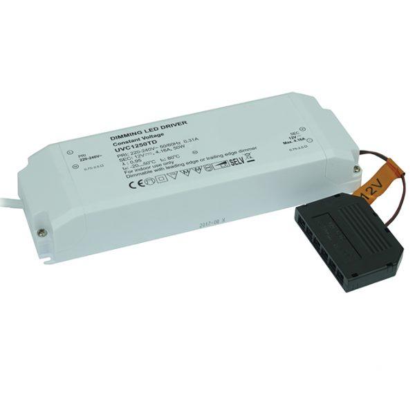 DIMMING DRIVER 50W 12V LED TRIAC DIMMABLE DRIVER 50W DIMMING DRIVER K10-1250DIM 670X670