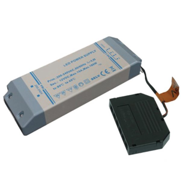 180W 12V LED DRIVER WITH 6-PORT MICRO PLUG CONNECTOR K10-1295 670X670