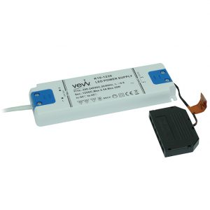 DRIVER 30W 12V LED DRIVER WITH 6-PORT MICRO PLUG CONNECTOR DRIVER 30W K10-1230 670X670
