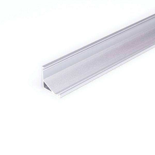 DISPLAY LED ALUMINIUM PROFILE FOR CABINET LIGHTING -2M K01-1065 Aluminium 670x670