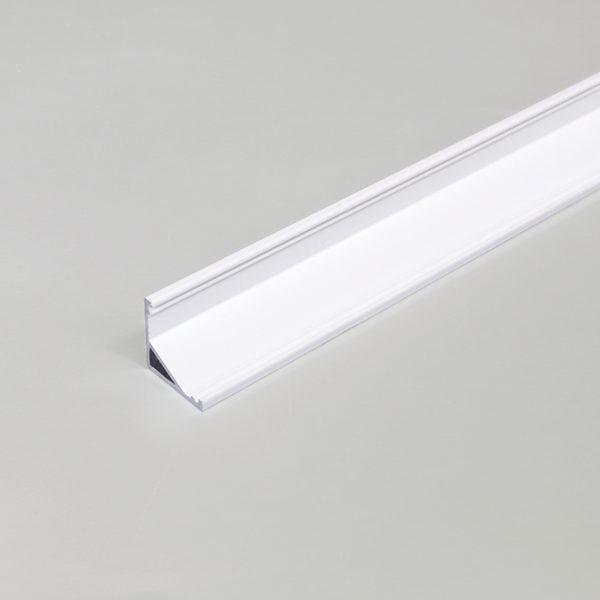 DISPLAY LED ALUMINIUM PROFILE FOR LED TAPE -2M -K01-1065 White 670x670