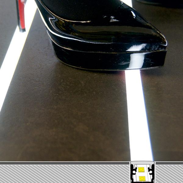 Floor LED Aluminium Profile For Floor Lighting- K01-1040-2M cross section 2 670x670