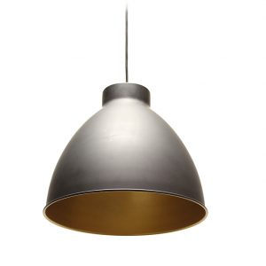 HOPPER GREY & COPPER CEILING PENDANT 310MM T01-0010 670x670