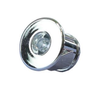 DECK LED LIGHT POLISHED CHROME K00-0019-670x670