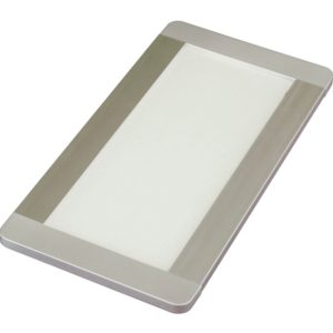 6w Fino + rectangular panel light with prismatic lens K01-0181