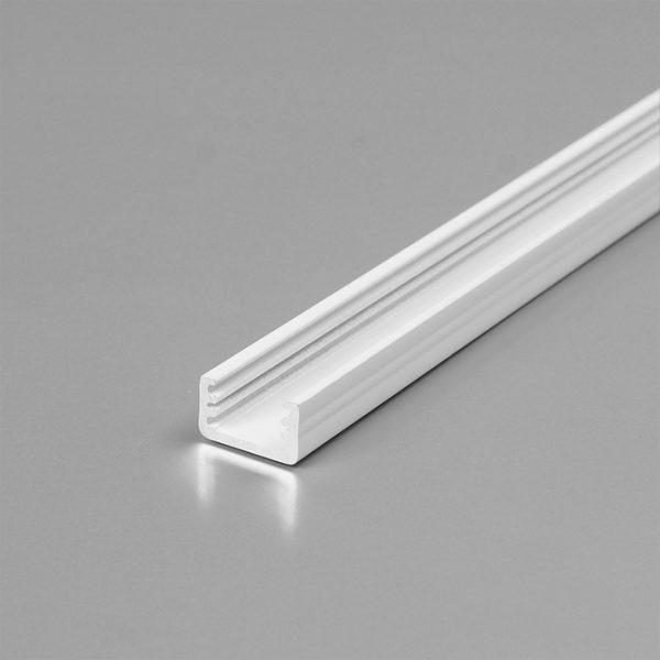 SLIM LED Aluminium Profile For Discreet Lighting 2M K01-1000-2M White 670x670