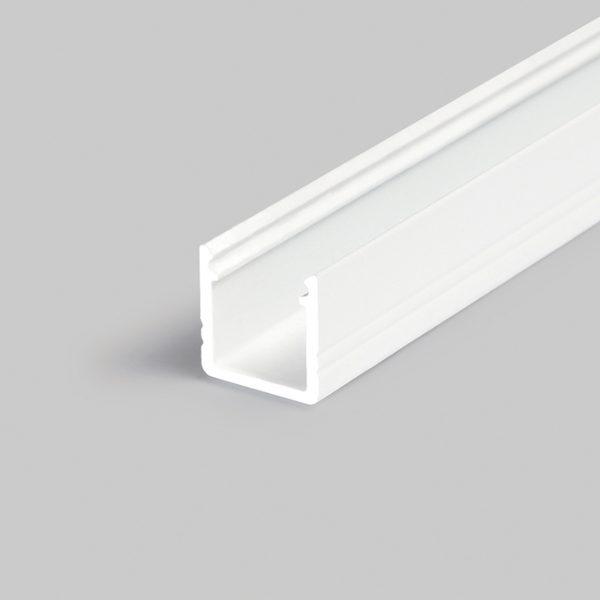 SMART SURFACE LED ALUMINIUM PROFILE FOR REFLECTIVE SURFACES– 2M K01-1035-2M White 670x670