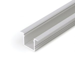 SMART RECESSED LED ALUMINIUM PROFILE FOR CABINET STRIP LIGHTING – 2M K01-1037-2M aluminium 670x670
