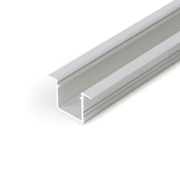 SMART RECESSED LED ALUMINIUM PROFILE FOR CABINET STRIP LIGHTING – 2M K01-1037-2M aluminium 670x670