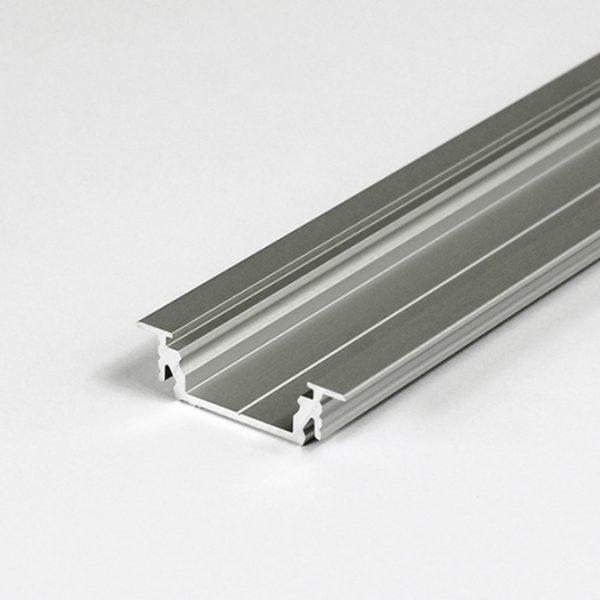 RECESSED LED ALUMINIUM PROFILE FOR CABINETS & WARDROBES– 2M K01-1055-2M Aluminium 670x670