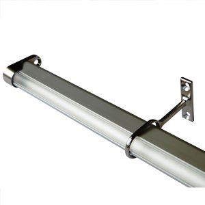 RAY ALUMINIUM HANGING RAIL PROFILE FOR WARDROBE LIGHTING K01-1070-2.5M 670x670