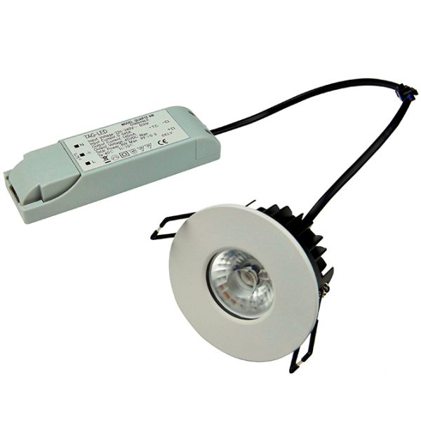IP65 RATED LED 8W FIRE RATED DIMMABLE DOWNLIGHT K05-6017 670X670