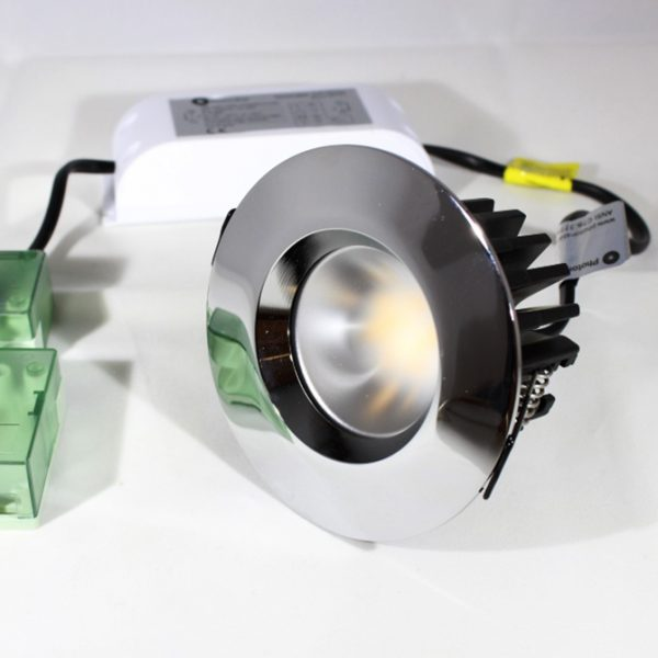 IP65 RATED LED 5.8W FIRE RATED DIMMABLE DOWNLIGHT K05-6050PC 670x670