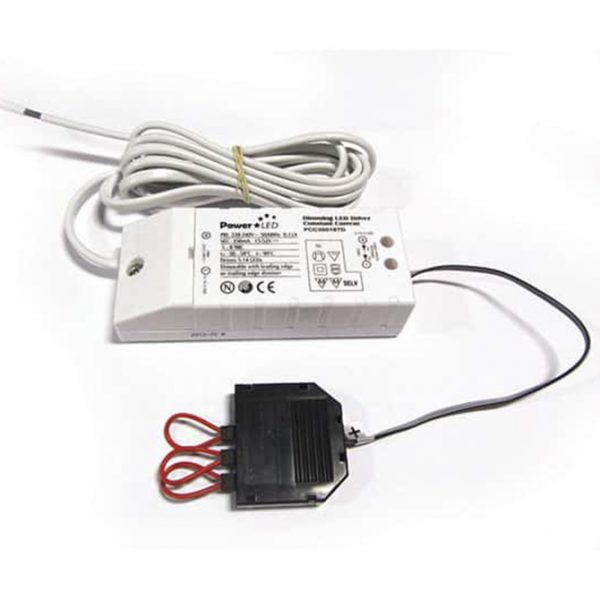 18W 350MA LED DRIVER C/W 4 PORT TOP-KABEL DIMMABLE K11-8275D 670X670
