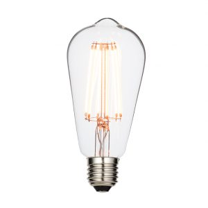 PEAR FILAMENT 6W LED LAMP E27