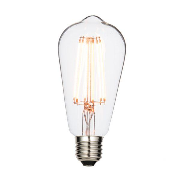 PEAR FILAMENT 6W LED LAMP E27