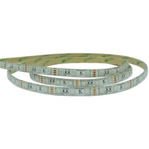 RGB + IP65 RATED COLOUR CHANGING LED TAPE 14.4W 60 LEDS PER METRE K30-5915 Reel 670x670
