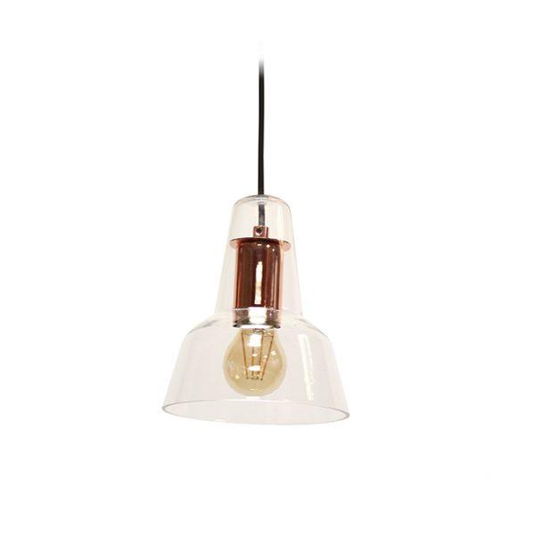 MIZU COPPER LAMPHOLDER CEILING PENDANT 160MM T01-0005CO 670X670