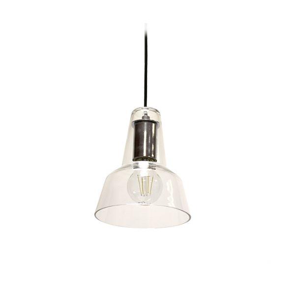 MIZU POLISHED CHROME LAMPHOLDER CEILING PENDANT 160MM T01-0005PC 670x670