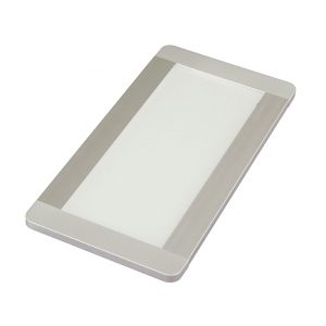 FINO + CCT RECTANGLE PANEL LIGHT 6W WITH PRISMATIC LENS - K01-0181 670X670