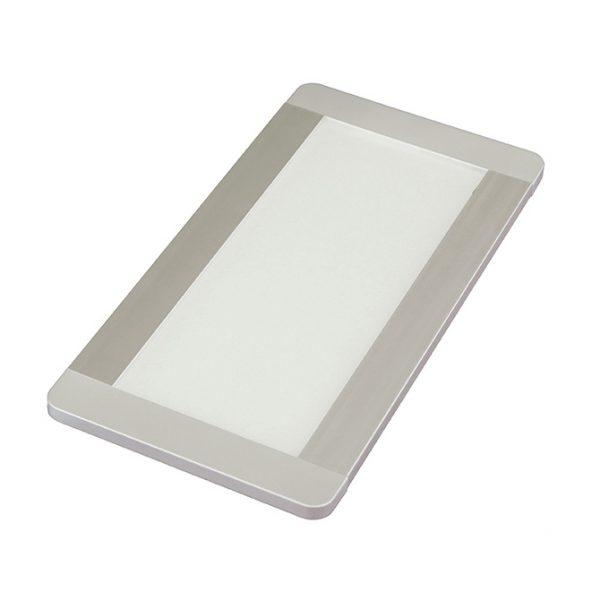 FINO + CCT RECTANGLE PANEL LIGHT 6W WITH PRISMATIC LENS - K01-0181 670X670