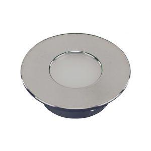ORBIT MINI ROUND/CIRCULAR POLISHED CHROME CABINET LIGHT 1.5W - K01-0090PC 670x670