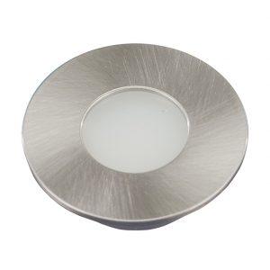 ORBIT MINI ROUND/ CIRCULAR STAINLESS STEEL CABINET LIGHT 1.5W - K01-0090SS 670x670