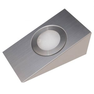 SPOT CCT REMOTE OR APP SMD LED CCT CABINET WEDGE LIGHT STAINLESS STEEL 2W SPOT K01-0162CCT 670X670