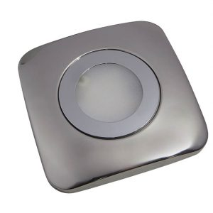 SPOT CCT REMOTE OR APP SMD LED CABINET SQUARE LIGHT STAINLESS STEEL 2W K01-0168CCT 670X670