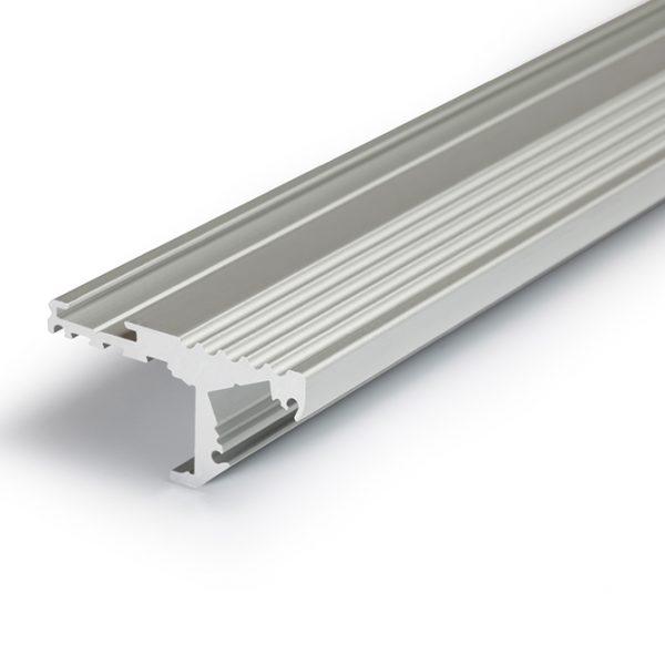 STEP LED ALUMINIUM PROFILE FOR STEP EDGE LIGHTING -2M K01-1020 Aluminium 670X670