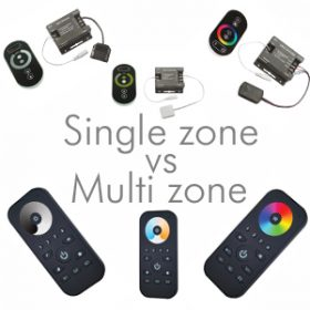 guide to single zone versus multi-zone lighting control