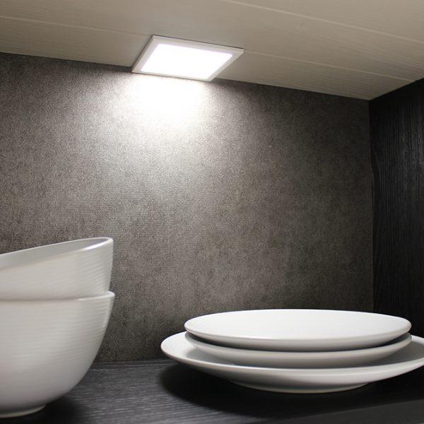 THIN/SLIM SQUARE LED SQUARE PANEL LIGHT 3W - K01-0190 Insitu 3 670x670
