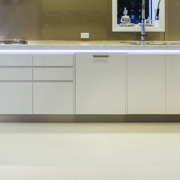 Smart Surface LED Aluminium Profile For Reflective Floors & Work Surfaces- K01-1035-2M Insitu 3 670x670