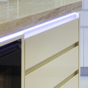 Smart Surface LED Aluminium Profile For Work Surface Strip Lighting - K01-1035-2M Insitu 4 670x670