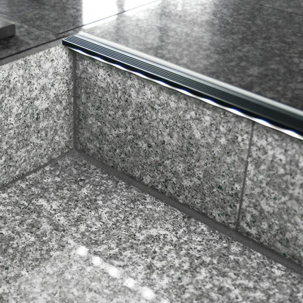 Step LED Aluminium Profile For Step Strip Lighting- K01-1020-2M insitu 2 670x670