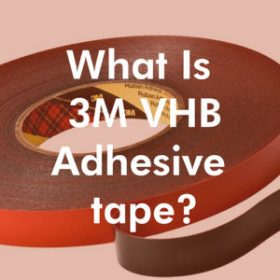 what is 3m vhb adhesive tape