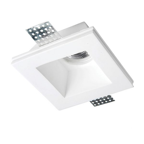 GES SQUARE PLASTER-IN DOWNLIGHT 120MM B90-90-1722 670x670