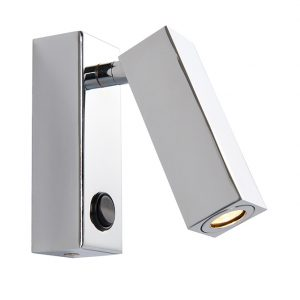 RECTANGULAR LED DIRECTIONAL WALL LIGHT 3W C61-3105PC 670x670