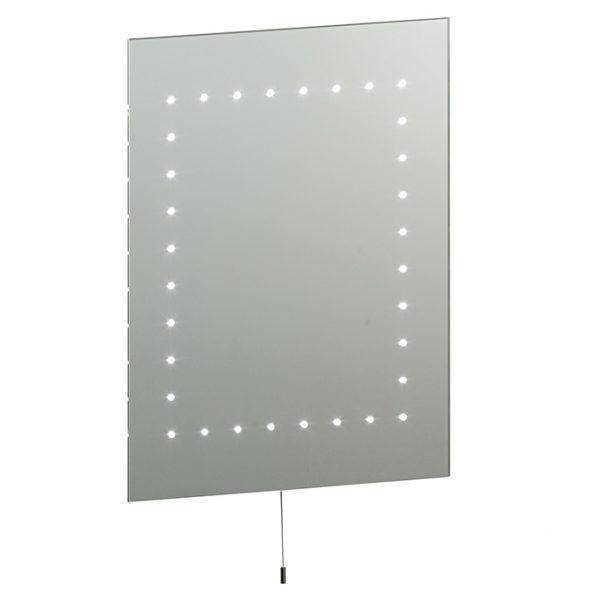LED PORTRAIT BATHROOM MIRROR D06-5050 670x670