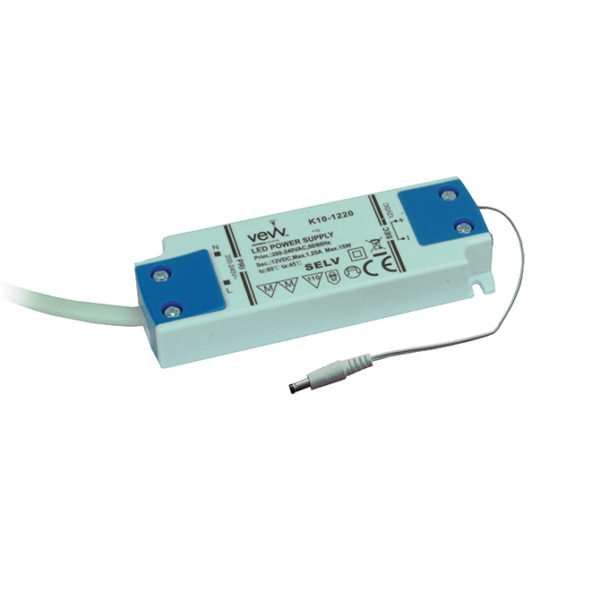 DRIVER 15W 12V LED DRIVER FOR SINGLE COLOUR, CCT AND RGB CONTROLLERS K10-1220UNI 670X670