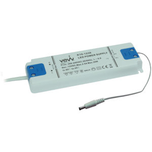 DRIVER 30W 12V LED DRIVER FOR SINGLE COLOUR, CCT AND RGB CONTROLLERS K10-1230UNI 670X670