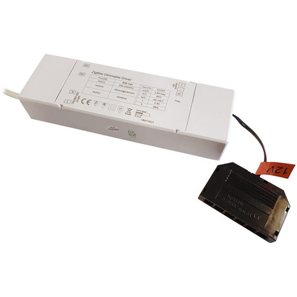 SMART DRIVER 12V LED SMART DRIVER 30W WITH 6-PORT MICRO PLUG CONNECTOR K10-1230Z 670x670