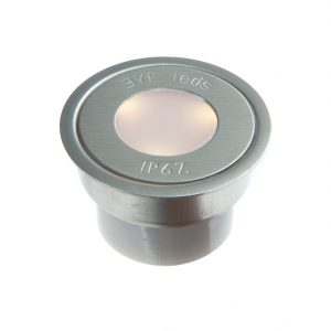 EYELEDS® OUTDOOR BASIC SINGLE LED UNIT W. CONN.BOX – 1 X 0.3W STAINLESS STEEL FINISH K39-1300 670X670