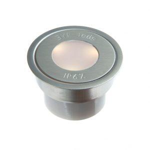 EYELEDS® OUTDOOR BASIC SINGLE LED UNIT W. CONN.BOX – 1 X 0.3W STAINLESS STEEL FINISH K39-1300 670X670