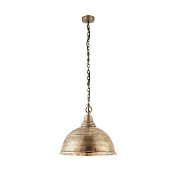 Antique silver ceiling pendant T54-0038