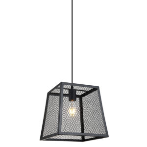 Arlo black mesh & contemporary ceiling pendant light T01-0018 670x670